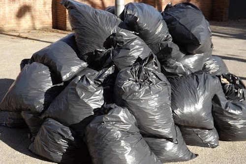 Junk Removal Bagged Trash