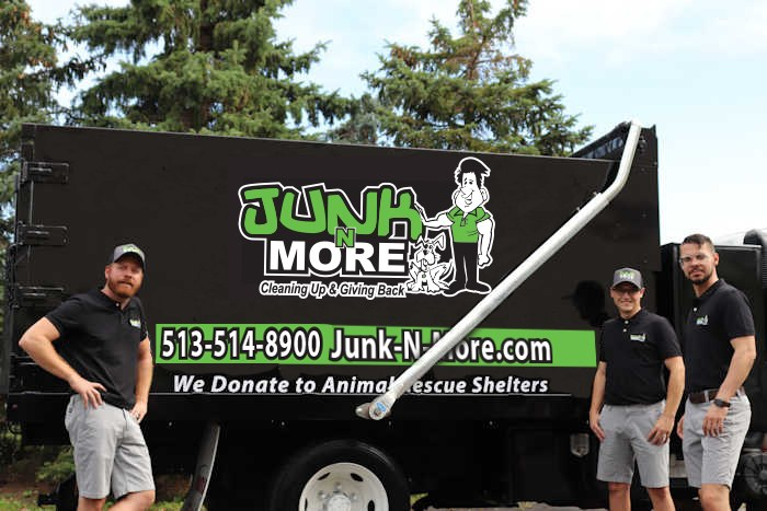 Junk N More Team with Truck