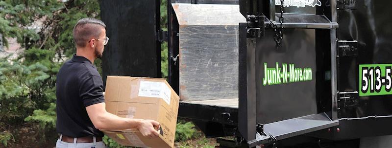 Loading Box on Truck