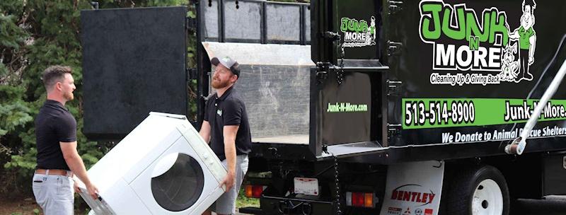 Loading Dryer on Truck